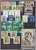 s15566) VATICANO MNH** 1995 Complete Year set 30v + s/s