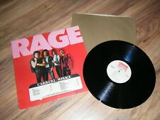 RAGE Self Titled Vinyl LP Rare Promo Copy 1981 Atlantic Records