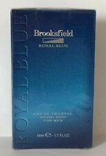 Brooksfield ROYAL BLUE FOR MEN Eau de Toilette 50 ml OVP Rare