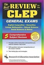 CLEP General Exam (REA) -The Best Exam Review for the CLEP General (Test Preps)