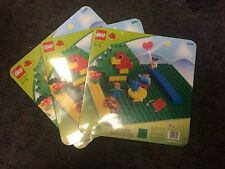 LEGO 2304 Duplo Base Plate Lot of 3 New in sealed packages!