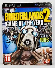 BORDERLANDS 2 GAME OF THE YEAR EDITION PLAYSTATION 3 PS3 PLAY STATION PAL ESPAÑA