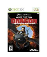 NEW How to Train Your Dragon 1 XBOX 360 SEALED RARE LAST ONE FREE SHIPPING 😊