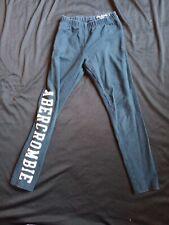 Girls Navy Blue Abercrombie Kids Leggings Size 7-8