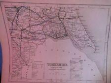 United Kingdom European Antique Maps & Atlases Yorkshire 1800-1899 Date Range