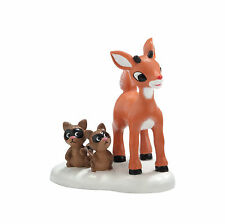 Dept 56 North Pole She Said I'm Cute Rudolph Accessory 4025287 D56  NEW 2012