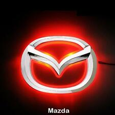 LED Car Tail Logo Red light Auto Badge Light Emblems for Mazda 5 New Mazda 6