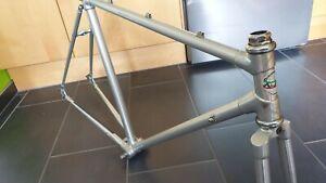 ALAN italian vintage road bike frame set 52x54 cyclocross classic Fahrradrahmen