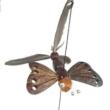 Handmade Hanging Wind Spinners Butterfly Animal Outdoor Porch Patio Garden Decor