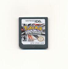 Nintendo Pokemon Platinum Version Game Card for NDS DSI