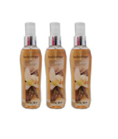 Bodycology Toasted Sugar Fragrance Mist for Women 3 Ounce (3 Bottles)