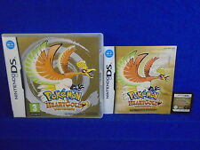 ds POKEMON HEARTGOLD VERSION PAL Heart Gold Lite DSI 3DS Nintendo