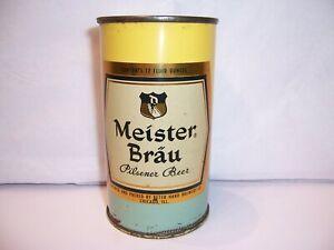 1950's Meister Brau Pilsener  Flat Top Beer Can Brewed in Chicago, IL