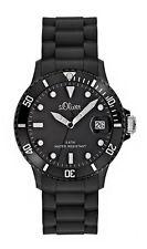s.Oliver Quarz - (Batterie) Armbanduhren aus Silikon/Gummi und Kunststoff