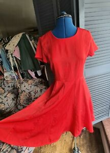 Red Dress, Louche, Size 10