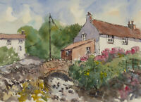 John A. Case - 20th Century Watercolour, A trio of Studies of the Countryside