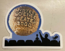 New: MYSTERY SCIENCE THEATER 3000 (MST3K) Sticker Decal Moon laptop car 3.6*3in
