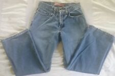 Levis 569 Loose Straight Red Tag Jeans Size 10 Regular 24x24 Faded Blue Cotton