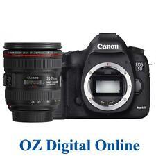 New Canon EOS 5D Mark IV 24-70 Kit MK 4 30.4MP Wifi NFC 4K DSLR Camera 1 Yr Wty