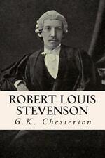 Robert Louis Stevenson by G. K. Chesterton (2015, Paperback)