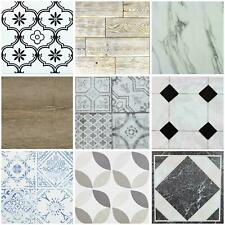 Floor Tiles Self Adhesive Marble Moroccan Vinyl Flooring Kitchen Bathroom 1m²