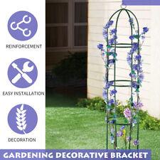 Garden Obelisk Outdoor Rose Climbing Plant Frame Stand Support Arch Trellises