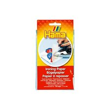 HAMA Beads Non Stick Ironing Paper Melt or fuse the beads together