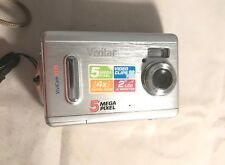 Vivitar Vivicam 5195 5.0MP Digital Camera - Silver