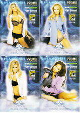 Bench Warmer Dreamgirls 2015 Comic-Con exclusive 4 promo card near set missing 1