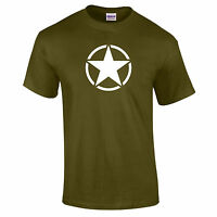 Military Star Willys Jeep Style US American Army Combat Unisex PREMIUM T-Shirt