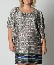 031c74bc777 Piper Ladies Fashion Batwing Dress Tunic Top sizes 8 12 14 Colour Multi  Print