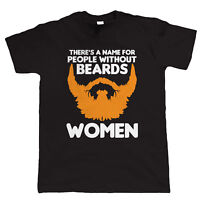 People Without Beards Mens Hipster Funny T-Shirt, Fear The Beard Stock Clearance
