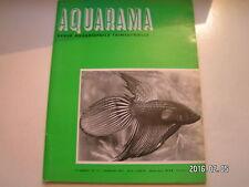 ** Aquarama 01/71 Copeina arnoldi / Les Mbuna / Les Oscars rouges