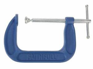 Faithfull - G Clamp Medium-Duty 102mm (4in)