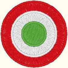 COCCARDA COPPA ITALIA calcio diam. cm 3 toppa PATCH ricamata ricamo termoadesiva