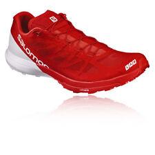 Zapatillas fitness/running de hombre en color principal rojo sintético