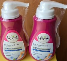 2 x VEET Cream Hair Removal Sensitive Skin 400ml Pr319 023