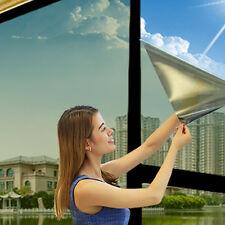 HD Silver Mirror Reflective UV Protective Privacy Car Window Glass Film Sticker