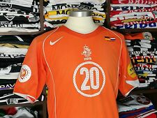 HOLLAND home 2004/06 shirt - SEEDORF #20 - AC Milan-Real Madrid-Ajax-Jersey (M)