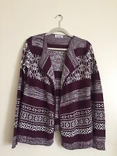 Calvin Klein Women's Knit Open Front Cardigan Size Large