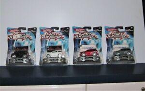 Hot Wheels Car Tunerz  2002 Cadillac Escalade Black Silver Red White HTF ALL 4
