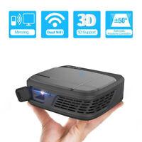 3300 Lumens Mini WiFi Projektor 3D DLP Heimkino Beamer mit Airplay Geschäft USB