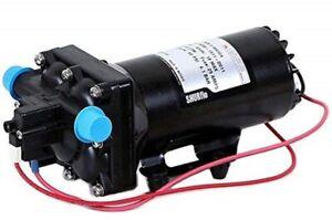 "5059-1311-D011 Shurflo 5.3 GPM High Flow Auto Demand 12VDC Pump 1/2"" Male Pipe"