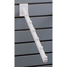 New Retails White 6-Ball Waterfall 3/4 Inch Square Tubing Faceout for Slatwall