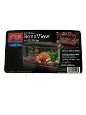 Aqua Culture 0.5-Gallon Fish Tank Ideal For Bettas