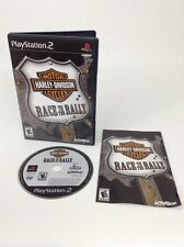 SONY PlayStation 2 PS2 Harley-Davidson Motorcycles Race to the Rally (COMPLETE)