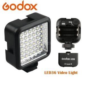 Godox Mini Pro LED-36 Video Light 36 LED Lights for DSLR Camera Camcorder DVR DV