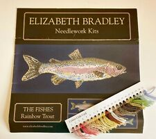 Elizabeth Bradley Needlepoint Chart & Color Card - The Fishes - Rainbow Trout