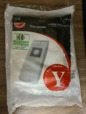 New 6 Genuine Hoover Allergen Type Y Vacuum Cleaner Bags Wind Tunnel Tempo