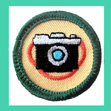 CAMERA SHOTS Junior Jade Girl Scout Badge Patch 2001 NEW Jr. Multi=1 Ship Charge